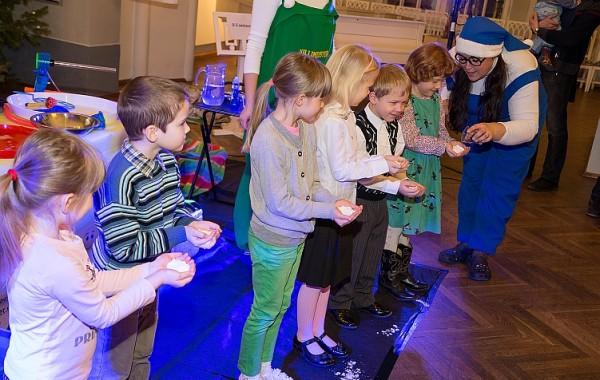 Teadus-show jõulupeole